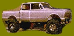 Phantom Chevy 4x4 Supercrew Pickup